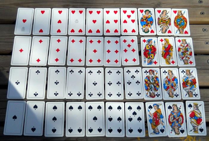 Carte milanesi lombarde for Come costruire un mazzo del secondo piano