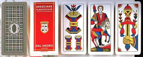 Bon Ton >> Cavallo Re - Giochi di carte - Carte Bresciane